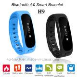 Il Wristband astuto di Bluetooth con IP56 impermeabilizza (H9)