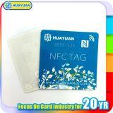 NFC ntag203 het Zelfklevende Etiket van Stickers RFID