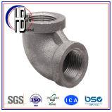 Cuerda de rosca de la fuente de la fábrica que ajusta el codo del acero inoxidable de 90 grados