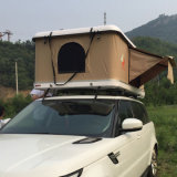 Tienda dura de la tapa de la azotea del coche del shell de la mini fibra de vidrio ultraligera terrestre del peso 4WD