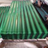 Las hojas de la hoja de acero/del material para techos de PPGI/acanalaron la hoja (0.14mm-0.8m m)