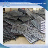 Aluminium Perforated Small Sheet for Small Lamp Tube