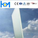 Glace photovoltaïque modelée en verre de décoration de feuille de panneau solaire d'arc de Huamei