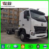 Sinotruk A7 420HP Prime Mover Truck Tractor Hydraulic Steering