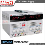 90W 30V 3A Variable Direct Current Power Supply, Variable Doppel-Kanal Gleichstrom Power Supply, Variable Gleichstrom Power Supply mit CER u. RoHS (MCH-303DII)