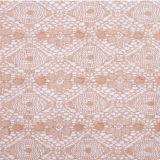 Laço do bordado do vestido da forma do Crochet do algodão