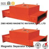 Rcya-80 Separator van de Pijpleiding van de reeks de Permanente Magnetische voor Cement, Chemisch product, Steenkool, Plastiek, Bouwmaterialen