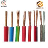 100%残された銅のコンダクター電気ワイヤー1.5mmケーブルの価格