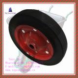 고품질 단단한 고무 바퀴 350-8, 400-8,