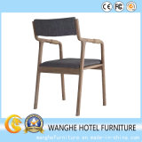 Hauptmöbel-Form-Rattan Armest, das Stuhl speist
