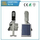 Luz de rua solar Integrated do painel solar do diodo emissor de luz 6W para a venda