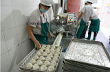 Verkoop Chinees Gestoomd Broodje Makend Gevulde Maker Momo Vormt Machine