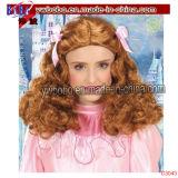 Abendkleidafro-Perücke der Partei-Feld-Halloween-Karnevals-Prinzessin-Queen (C3045)