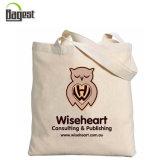Saco natural Eco-Friendly do algodão do saco de Tote da lona dos bens 100%