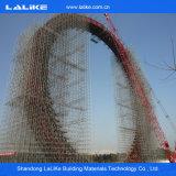 Type en acier échafaudage de matériau de construction de HDG de système de Ringlock