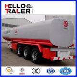 3半車軸42000Lアルミニウムガソリンまたはガソリンまたは燃料タンクのトラックのトレーラー