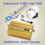 Servocommande cellulaire de signal de Wilress d'amplificateur de GM/M 980 mobiles de répéteur de signal de GM/M d'amplificateur de signal de GPS