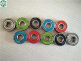 Rolamento preto vermelho ABEC7 608RS Zz do skate do girador