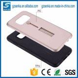 2 en 1 caja del teléfono con el sostenedor de la mano para el teléfono celular para el iPhone 6/6s