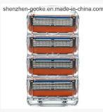 Lámina promocional de 5 capas con la máquina de afeitar del hombre del condensador de ajuste para la energía de fusión de Gillette en cuenta del rectángulo 4