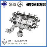 알루미늄 OEM는 CNC 기계로 가공을%s 가진 주물 엔진 주거 부속을 정지한다