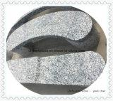 Banc de granit en pierre pour parc ou jardin