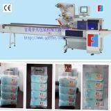 O bebê automático do controle do servo motor limpa a máquina de empacotamento horizontal do fluxo
