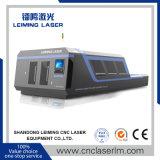 Machine de découpage de laser de fibre de haute énergie Lm3015h3 avec la pleine couverture