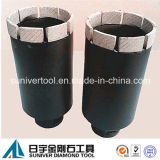 Diamante Core Bit per Drilling Granite (SUDCB)