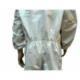 Mikroporöser Wegwerfoverall-Schutzkleidung der Qualitäts