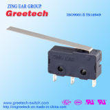 Miniatuur Micro- Schakelaar met lange levensuur met ENEC/UL