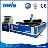 aço inoxidável de máquina de estaca 4mm do laser da fibra do metal 750W