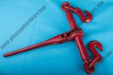 그려진 빨간 래치드 유형 짐 바인더