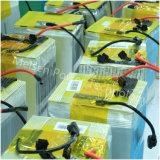 Bateria do polímero do lítio do preço de fábrica para o sistema solar e do vento