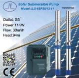 bomba solar centrífuga submergível do aço 6sp30-12 inoxidável