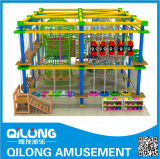 Augmenter Rope Courses d'Indoor Playground (QL-150428D)