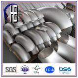 90度のバット溶接Stamlessのステンレス鋼の肘En