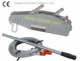 De Kabel die van de draad Hijstoestel met Ce GS trekken