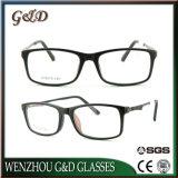 Bâti optique d'Ultem de monocle en plastique populaire de lunetterie avec la tempe en aluminium Rb50098