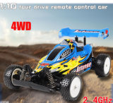RC Car - 1/10-Skala 4WD batteriebetriebene Off-Road Buggy - Booster