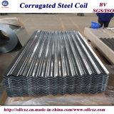 chapa de aço galvanizada PPGI de 0.14-0.8mm/folha de aço telhadura do metal