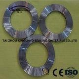 (KLG452) Gaxeta serrilhada do metal com colar interno