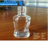 高品質の化粧品のための透過ガラスマニキュアのびん