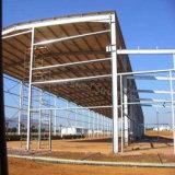 アンゴラに構築するプレハブの軽い鉄骨構造の研修会