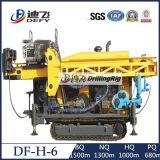 Equipamento Drilling principal hidráulico cheio elevado de núcleo do desempenho de custo Df-H-6