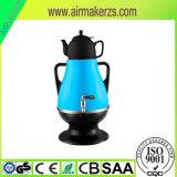 Samovar elettrico di plastica dell'elettrodomestico con il fiore del Russo di 0.8L Teapot&