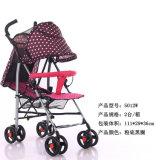 De Kinderwagen van de Baby van de wandelwagen met de Staaf van de Duw van de Paraplu