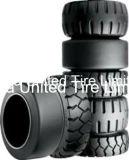 Neuer Gummigabelstapler-pneumatischer Gummireifen, 6.00-9 industrielle Gummireifen