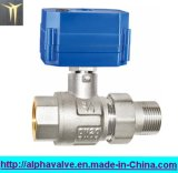 F x m. Cw617n Electric Brass Ball Valve (A. 0196)