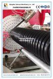 HDPEはKrahの螺線形の管の放出ライン機械の側面図を描いた